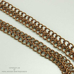 Soutache Chain CloseUp by ShaktipajDesigns