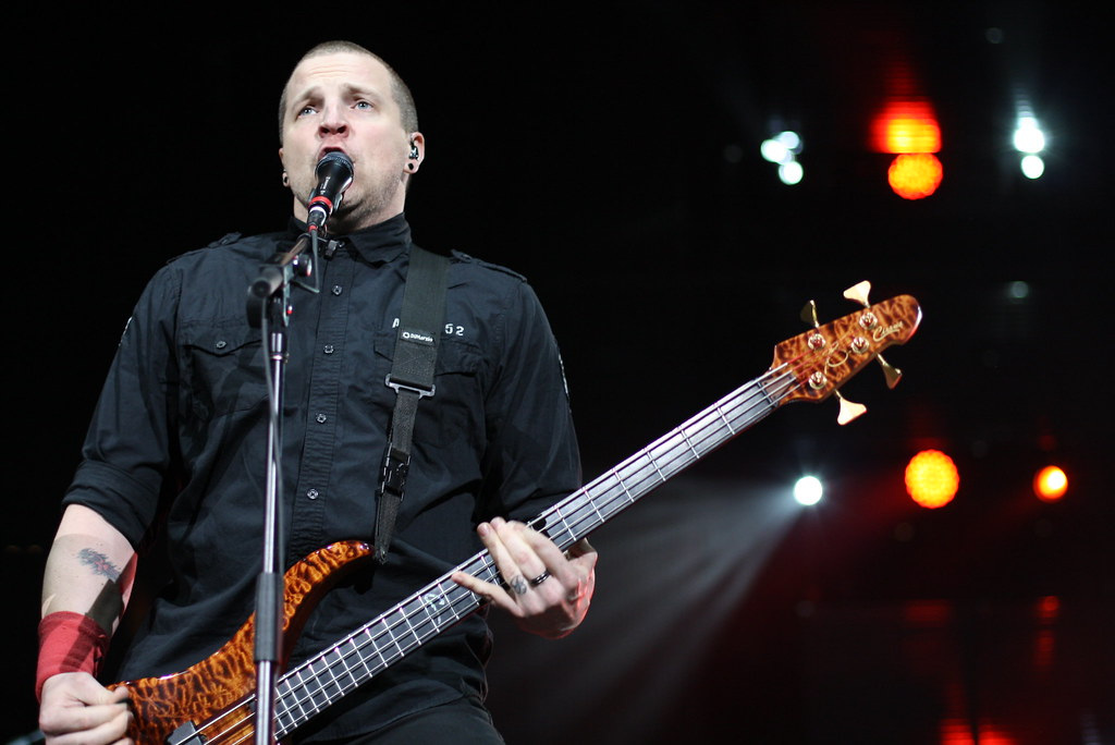 Randy Armstrong - bassist for Red
