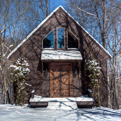 Skip's Garage (Pettygroves) Tags: winter india snow photomatix 1740mmf4l pseudohdr strawberrymountain canonxsi skipshouse elephantdoors