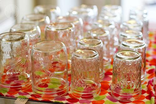 sterlized jars