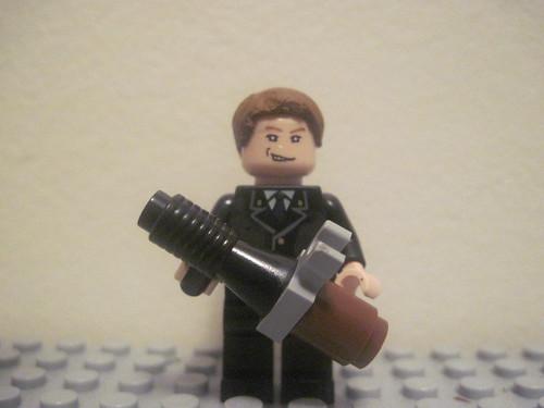 Lego Black Ops Thunder Gun. CoD Black ops Zombies: John F.
