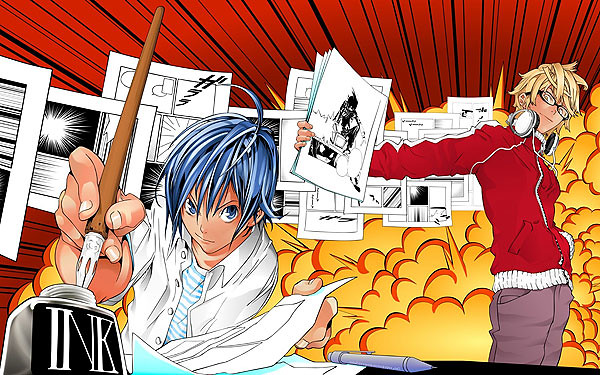 The two main characters in Bakuman