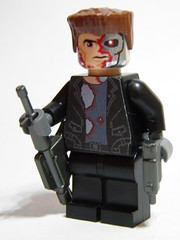 T-101 Terminator (~Amadgunslinger~) Tags: lego fig mini minifig terminator custom salvation t101 brickarms brickforge
