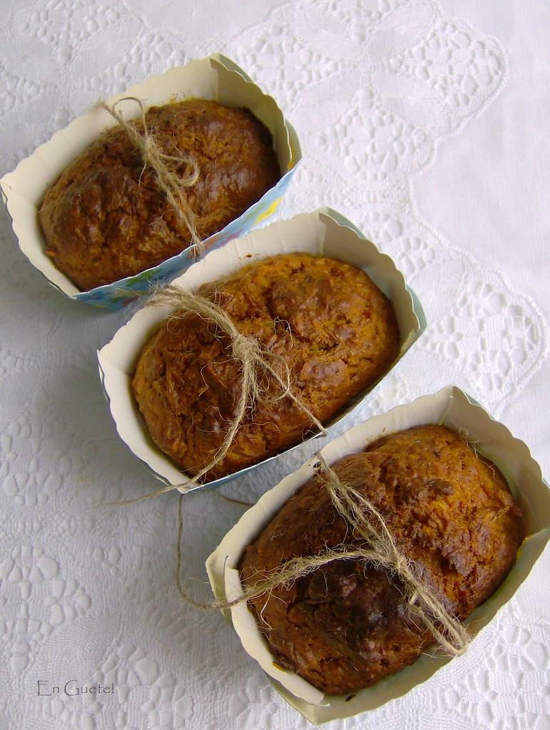 Bizcochitos de nueces, zanahoria y manzana