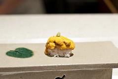 Sushi Zen - Uni (ウニ) (nicknamemiket) Tags: nyc food newyork japan sushi kiss manhattan midtown delicious foodporn zen uni japanesefood seaurchin theaterdistrict firstkiss deliciousfood ウニ sushizen 膳 foodofjapan toshiosuzuki