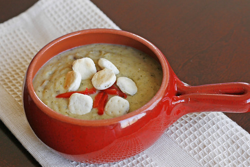 Potato Broccoli Cheddar Soup and a Soup Lovers Giveaway