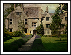 An English Country House - Avebury Manor (Audrey A Jackson) Tags: flowers trees windows roof chimney england house building texture grass doors lawn lavender ivy 1001nights nationaltrust aveburymanor 1001nightsmagiccity ringexcellence