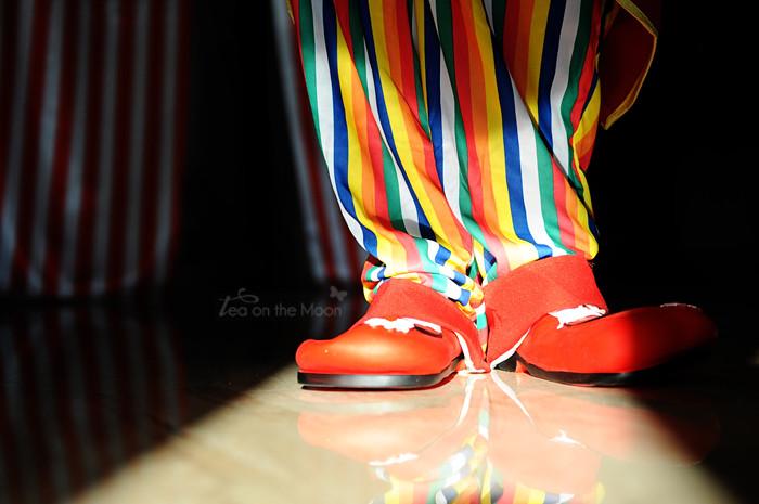 zapatos payaso