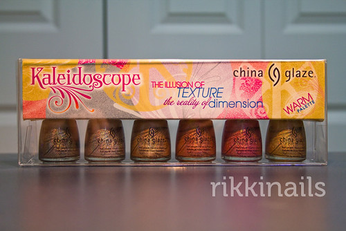 China Glaze Warm Kaleidoscope packaged
