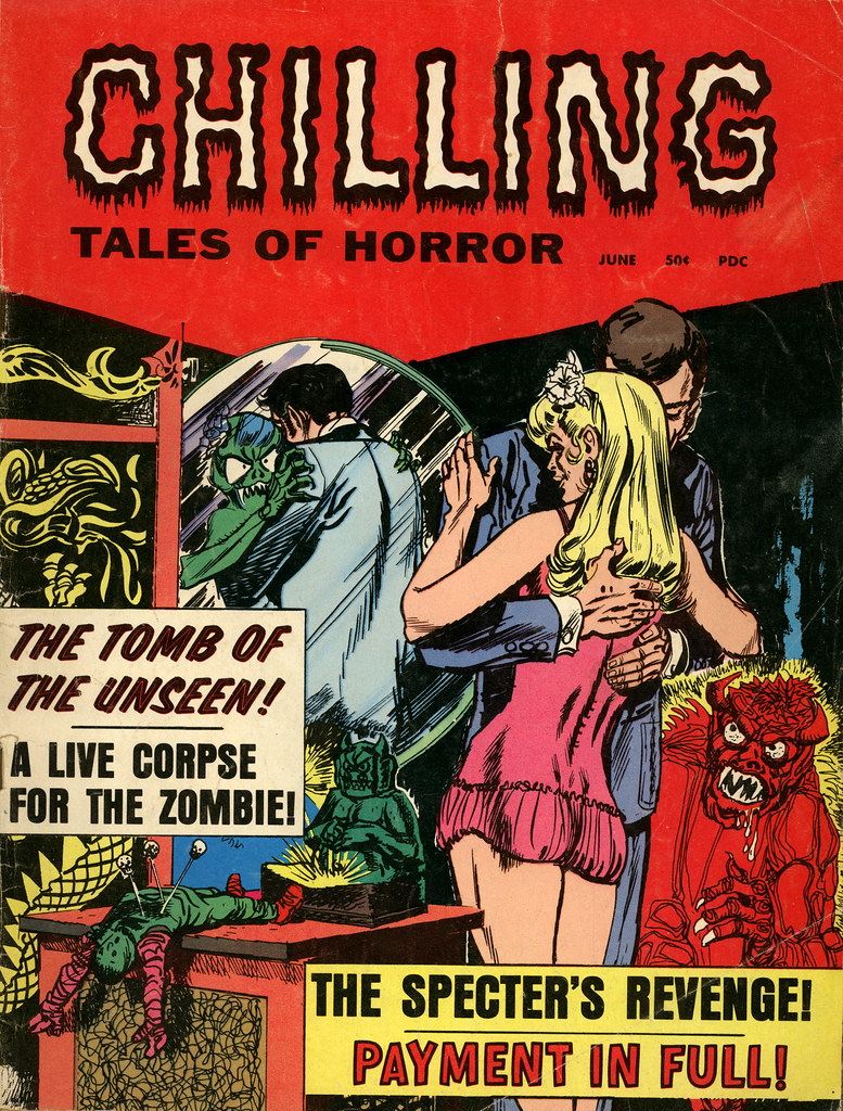 Chilling Tales Of Horror - June (Stanley Publications)