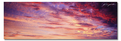 Painted Sky ([ Kane ]) Tags: pink blue sunset sky sun art clouds landscape photography dusk australia brisbane qld queensland 2010 wellingtonpoint sigma1020 50d kanegledhill kanegledhillphotography