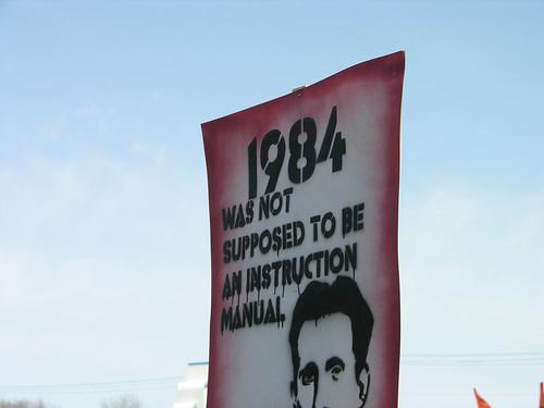 1984 not an instruction manual