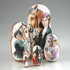 Portraits of Ladies with Horses Nesting Doll (The Russian Store) Tags: trs matrioshka matryoshka russiannestingdolls кукла stackingdoll русская russianstore матрешка russiangifts русскиймагазин russiancollectibledolls shoprussian русскиеигрушки русскиеподарки русскиесувениры