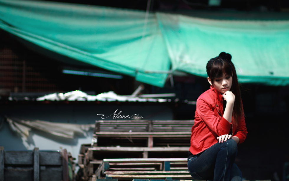 Alone.Chien