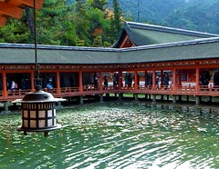 Itsukushima Shinto Shrine (Harru Harri ) Tags: japan shrine asia hiroshima miyajima gr shinto 厳島神社 itsukushima 広島 宮島 grd