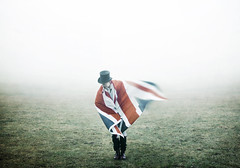 photograph (RYANLEETURTON.) Tags: mist motion vintage movement britain flag pipe retro tophat british patriot