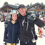Kelly Steeves (WMSC) and coach Rob Boyd (WMSC) at 2011 K2 Nationals, Collingwood, Ontario PHOTO CREDIT: Rosie Steeves