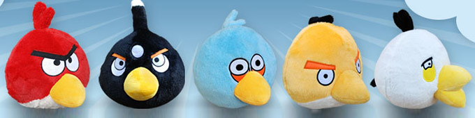 wholesale Angry Birds Plush Toys