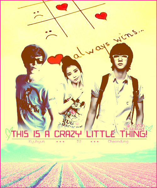 This is a crazy little thing! - cheondoong cheondung choisiwon iusinger jieun kyuhyun - main story image
