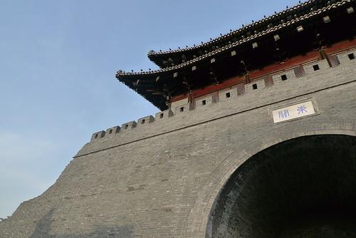 东门古城墙