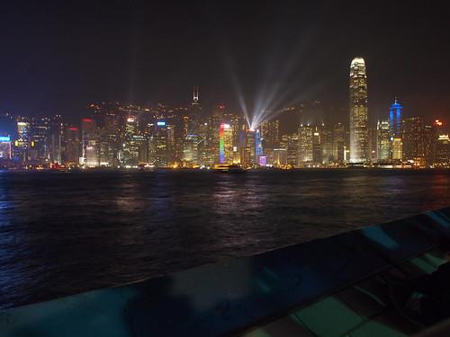 Hong Kong lights show