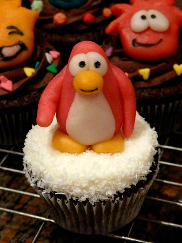 Penguin & Puffles!