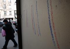 Bleu Blanc Rouge (srie) (Jack_from_Paris) Tags: street paris france tag panasonic micro rue 43 drapeau f40 tricolore dmcgf1 pancake14mmf25asph p1020008gf1