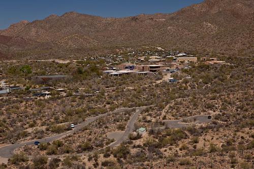View of Arizona Sonora Desert Museum from Brown Mountain