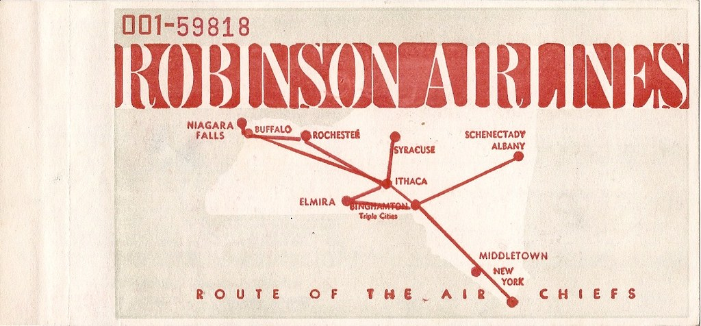 Roinson Airlines Ticket Cover