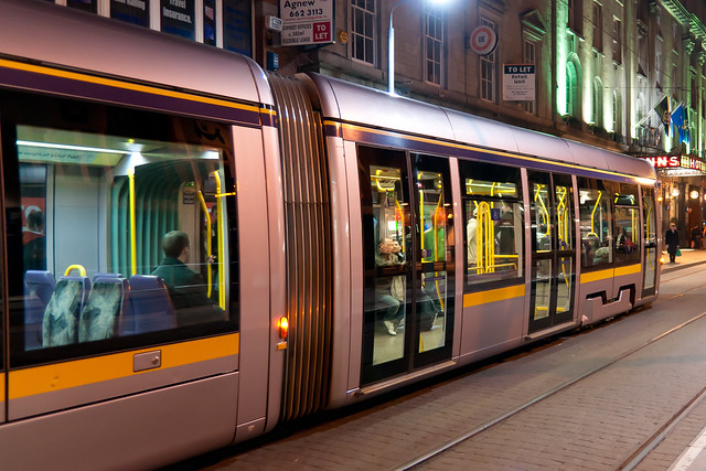 Dublin Luas tram