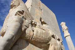 The Gate of All Nations - Persepolis - shiraz - Iran |  -  (Pedram Veisi) Tags: day iran clear shiraz   fars parseh      farvahar cyrusthegreat faravahar  dariusthegreat  achaemeniddynasty perseplis