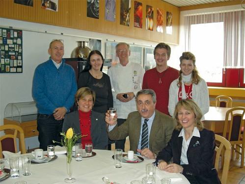 Besuch von der Partnerschule in Jesolo