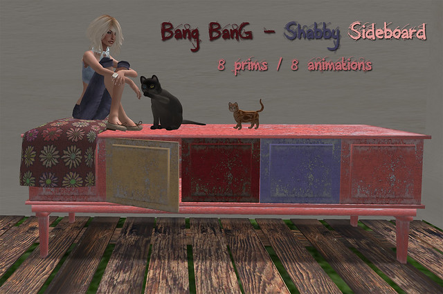 Bang Bang - Shabby Side(sit)board
