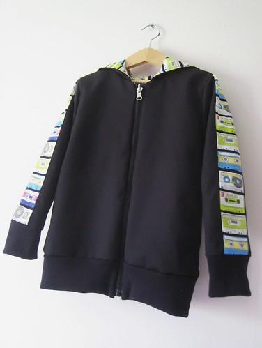 cassette hoodie reverse