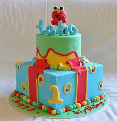 Elmo for Taha (Its A Cake Thing (Jho)) Tags: elmo elmocake childrenscake celebrationcake