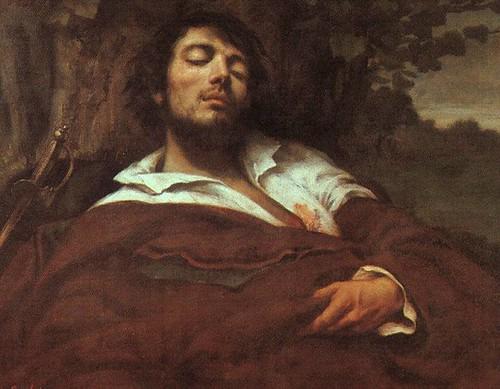 Autorretrato: El hombre herido, 1844-54