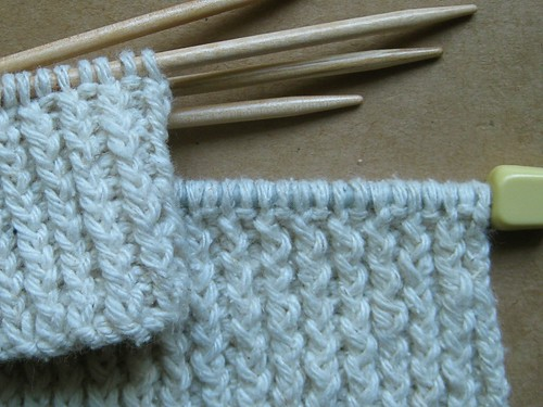 Comparing twisted ribbing