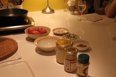 鴨油煎洋芋備料
