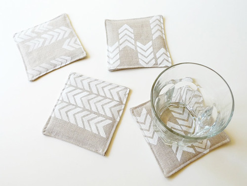 coasters made by Erin Dollar