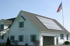 Darien Center, NY residential solar installation