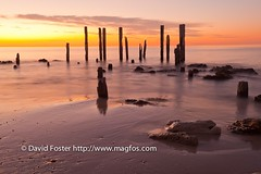 Port Willunga Jetty at Sunset (David Foster Photos) Tags: australian australia southaustralia portwillunga southaustralian