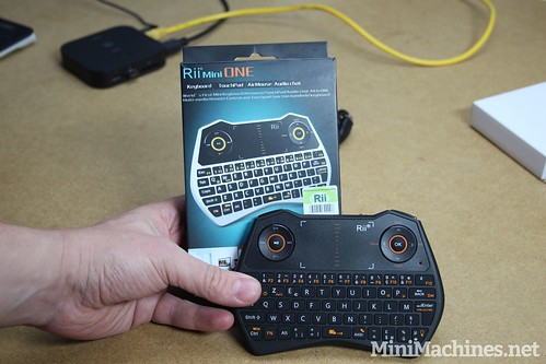 Test : Clavier ultracompact Rii Mini One sans fil