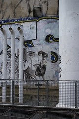 IRCAM, Paris (1932) (cfalguiere) Tags: areailedefrance cityscape colorwhite couleurblanc countryfrance datepub2016q410 graffiti locationparis outdoor paris streetart sel20161009 sel20161016