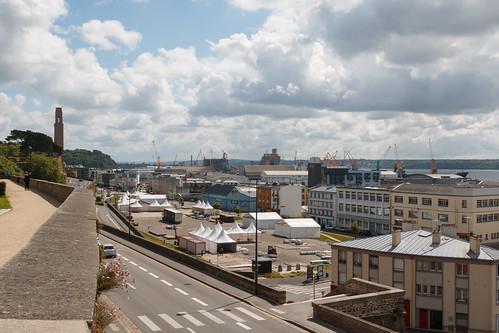 Port de commerce de Brest