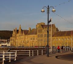 D14105.  Part of Aberystwyth University, Ceredigion, Mid-Wales. (Ron Fisher) Tags: aberystwyth ceredigion cymru wales midwales university gb greatbritain uk unitedkingdom pentax pentaxkx building architecture