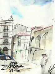 Zamora (Flix Tamayo) Tags: acuarela watercolor zamora