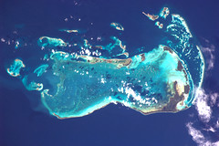 To which country does this Caribbean island belong? (astro_paolo) Tags: venezuela nasa iss esa internationalspacestation earthfromspace europeanspaceagency islalosroques expedition26 magisstra
