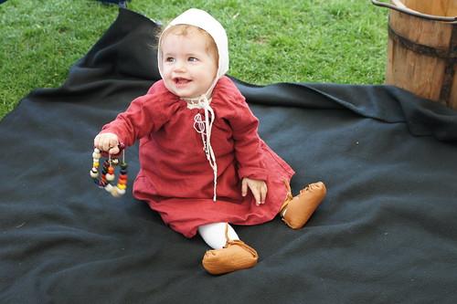 Mittelalter kleid fur babys