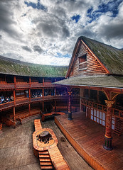 Shakespeare's Globe (Stuck in Customs) Tags: world city uk greatbritain travel england urban london history architecture digital island photography design blog actors high globe europe theater dynamic stuck theatre unitedkingdom britain stage capital great shakespeare continental historic september photoblog software empire acting processing british imaging recreation playhouse range iconic metropolitan hdr tutorial southwark trey reconstruction travelblog customs 2010 ratcliff hdrtutorial stuckincustoms samwanamaker treyratcliff photographyblog stuckincustomscom nikond3x shakespearesglobe