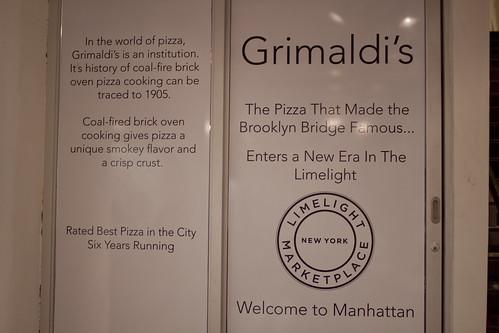 Grimaldi's Signage